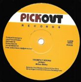 SALE ITEM - Milton Blake - Trumpet Sound / Diggory Kenrick - Jungle Cry (Pickout) 12""